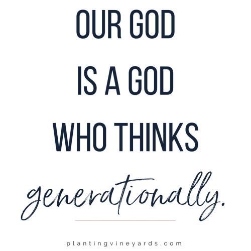 God thinks generationally | back-to-school prep