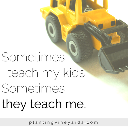 It's amazing how much I can learn through the eyes of my kids #momlife