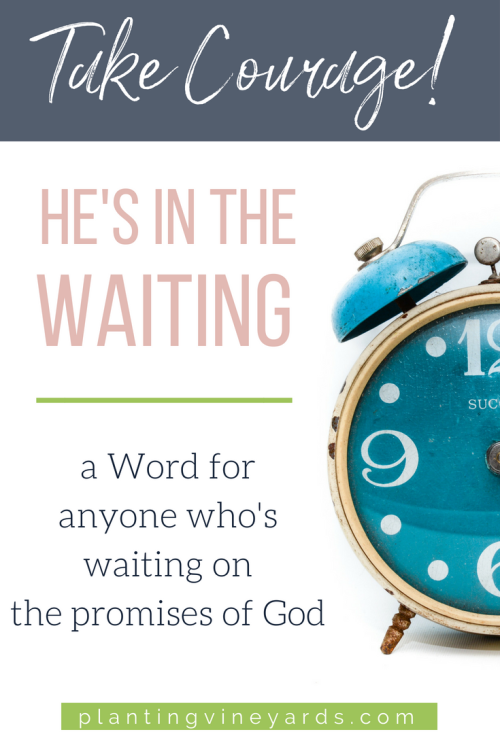 Waiting on the promises of God